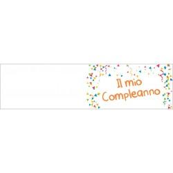 Bigliettini confetti per Bomboniere Compleanno