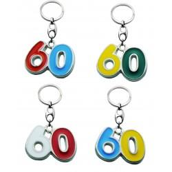 Portachiave Numero 60 (10 pezzi)