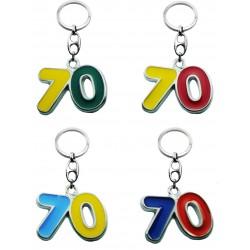 Portachiave Numero 70 (10 pezzi)