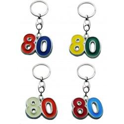 Portachiave Numero 80 (10 pezzi)