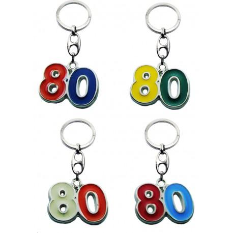 Portachiave Numero 80