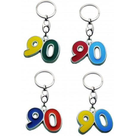 Portachiave Numero 90 (10 pezzi)