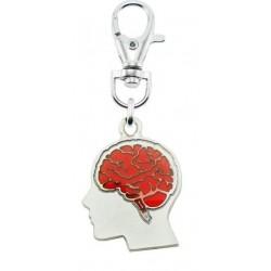 Portachiave Cervello
