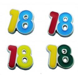 Magnete Numero 18 (20 pezzi)