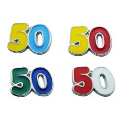 Magnete Numero 50 (20 pezzi)