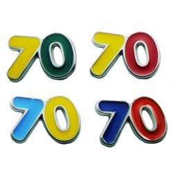 Magnete Numero 70 (20 pezzi)