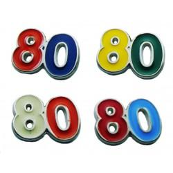 Magnete Numero 80 (20 pezzi)
