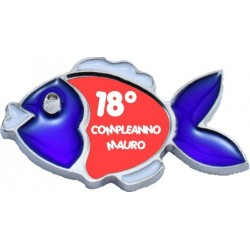 Magnete Pesciolino Personalizzato (20 pezzi)