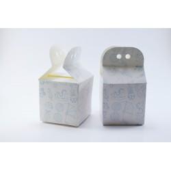 Scatolina Portaconfetti a forma di Busta per Nascita (Celeste)