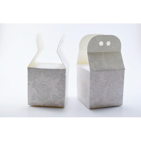 Scatolina Portaconfetti a forma di Busta con Albero della Vita