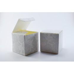Scatolina Portaconfetti a forma di Cubo con Albero della Vita
