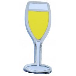 Magnete Calice Champagne (10 pezzi)