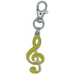Portachiave-moschettone  Chiave di Violino