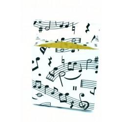Scatolina Portaconfetti a forma di Cubo Musica