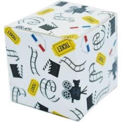 Scatolina Portaconfetti a forma di cubo Cinema